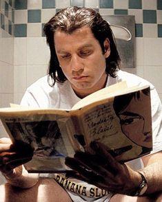 Comic novel 'Modesty Blaise' & John Travolta (via Pulp Fiction) John Travolta Pulp Fiction, Film Pulp Fiction, Cult Movies, Iconic Movies, Classic Movies, Good Movies, Indie Movies, Action Movies, Quentin Tarantino Films