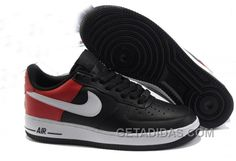 http://www.getadidas.com/315122049-nike-air-force-1-black-white-sport-red-nafo138-discount.html 315122-049 NIKE AIR FORCE 1 BLACK WHITE SPORT RED NAFO138 DISCOUNT Only $85.79 , Free Shipping!
