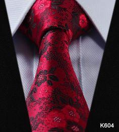 "Men's Ties, Blue 3.4"" 100% silk Woven Classic Man"