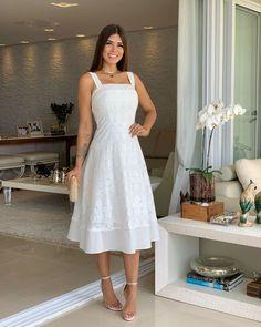 Vestido - P/M/GG} Bolsa Ref Grad Dresses, Cute Dresses, Homecoming Dresses, Casual Dresses, Summer Dresses, Fall Fashion Outfits, Chic Outfits, Dress Outfits, Fashion Dresses