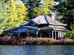 <p>The great camps of the Adirondack Mountains refers to the grandiose family compounds of cabins that were built in the latter half of the nineteenth century on lakes in the Adirondacks such as Spitfire Lake and Rainbow Lake. The camps were summer homes for the wealthy, where they could relax, …</p>