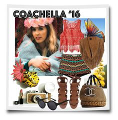 """""""Coachella 16"""" by yvettemmh ❤ liked on Polyvore featuring H&M and coachella"""