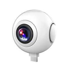 Check Price 720 360 Degree Panoramic Camera VR Camera HD Video Dual Wide Angle Lens Real Time Seamless Stitching for Android Smartphone Nikon D5200, Dslr Nikon, Vr Camera, Reflex Camera, Video Camera, Digital Camera, Smartphone Price, Android Smartphone, Android Phones