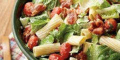 B.L.T. Pasta Salad | Our State Magazine Tested, propped and styled by Wendy Perry