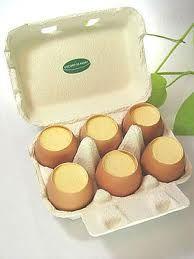 卵のからプリン