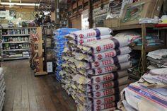 Photos of the interior of Wabash Feed & Garden.
