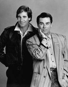 Scott Bakula as 'Sam Beckett' & Dean Stockwell as 'Admiral Al Calavicci' in Quantum Leap (1989-93, NBC)
