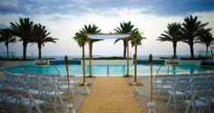 Hilton Fort Lauderdale Beach Resort Hotel, Fl - Wedding Set-up
