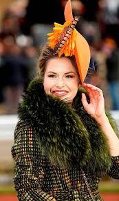 Cara Meehan Millinery   Cheltenham Festival   Furlong Fashion  Rebecca Johnson  Colour me march