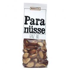 Bio Paranusskerne ganz - Mahler & Co - Feine Biowaren Magnesium, Dog Food Recipes, Organic Beauty, Foods