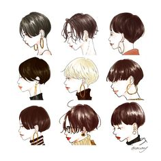 Shot Hair Styles, Haircut And Color, Female Character Design, Instagram Influencer, Hair Images, Cool Haircuts, Profile Photo, Perm, Aesthetic Pictures
