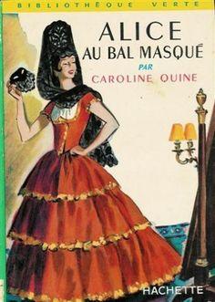 Alice au bal masqué, illustrations d'albert chazelle de Quine Caroline