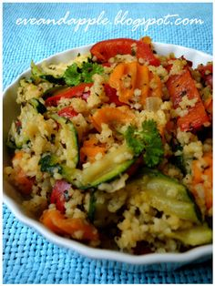 Eve and Apple: Zöldséges couscous