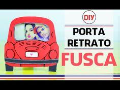 Diy: Porta Retrato de FUSCA | Imaginarium Inspired por Coisas de Jessika