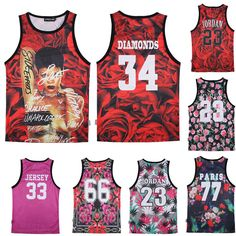 2015 hipster brand men women 3d tank tops Grid sports vest Jordan 23 Harajuku bodybuilding singlet Basketball swag emoji clothes