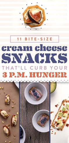 11 Bite-Size Cream Cheese Snacks That'll Curb Your 3 P.M. Hunger