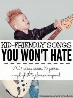 Music is such an important part of childhood, but some of the kid-friendly songs out there can drive parents insane. Keep reading to find 5 playlists for 5 different genres. Over 70 songs that kids will love and parents won't hate! Dj Songs, Karaoke Songs, Kids Dance Songs, Silly Songs, Dance Music, Party Playlist, Song Playlist, Kids And Parenting, Parenting Hacks