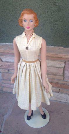 """Vintage Advertising Store Display Counter Top Mannequin 1950's 31""""   eBay"""