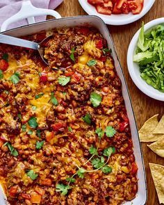 The Top 10 Casseroles of 2017 From a cheesy taco bake to blueberry pancake casserole, these recipes fed crowds all year long. The Top 10 Casseroles of 2017 From a cheesy taco bake to blueberry pancake casserole, these recipes fed crowds all year long. Casserole Taco, Easy Casserole Recipes, Taco Bake, Chicken Casserole, Casserole Ideas, Turkey Casserole, Beef Recipes, Cooking Recipes, Healthy Recipes