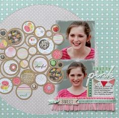Pretty in Pink - by Suzy Plantamura using Dear Lizzy Neapolitan by American Crafts