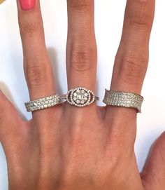 How many is too many? #thediamondstoreuk # diamonds #rings #wedding #engagement #bling #sparkle