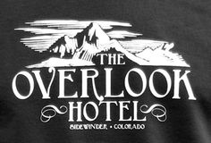 Overlook Hotel Typography
