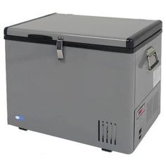 The Whynter 45 Qt. Portable Fridge Freezer offers premium quality and innovative design to meet your recreational needs. It is ideal for boats, house, campsites and fishing trips. It comes with a compressor cooling system to operate as a freezer. Compact Refrigerator Freezer, Portable Fridge, Mini Fridge, Camping Fridge, Rv Camping, Outdoor Camping, Stealth Camping, Minivan Camping, Portable Food