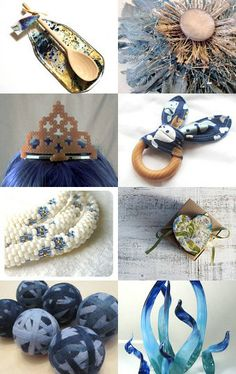"""""""Queen of the Blues"""" by Brassy Deb on Etsy--Pinned with TreasuryPin.com"""