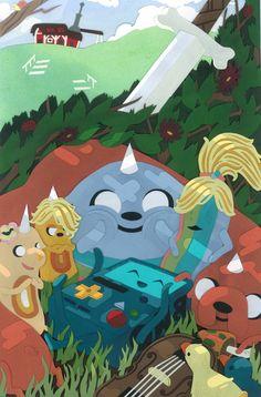 Adventure Time plus variant covers from Kaboom Studios Adventure Time Wallpaper, Adventure Time Anime, Culture Pop, Geek Culture, Marceline, Cartoon Network, Abenteuerzeit Mit Finn Und Jake, Adveture Time, Land Of Ooo