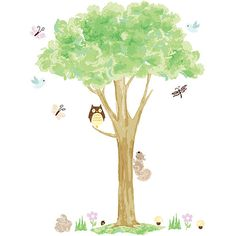 best teacher gift ideas peel and stick wall art Treehouse - WallPops for Baby Wall Art Kit Decals