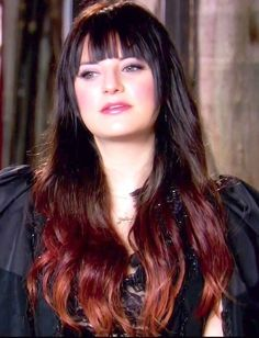 Juliet Simms   Ombre i will one day have her hair color<3