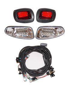 Drive Light Kit for Yahama Golf Carts Golf Cart Parts, Golf Carts, Heads And Tails, Led Headlights, Tail Light, Horns, Kit, Street, Ebay
