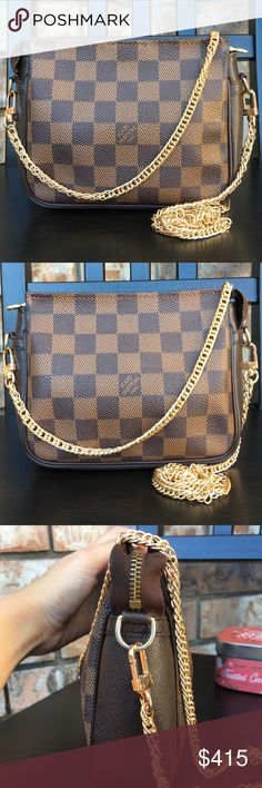 54bbd98e6aad Louis Vuitton pouch pochette crossbody Authentic. Date code NO0998. There  are dirt stains