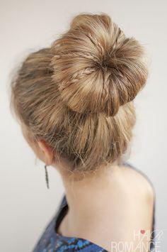 30 Buns in 30 Days - Day 30 - Mini braids in a bun