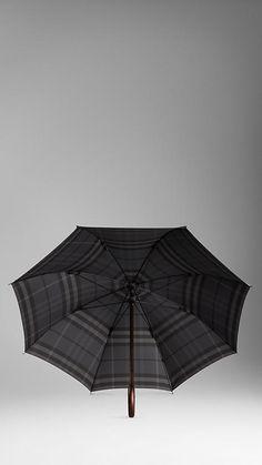Check Walking Umbrella | Burberry
