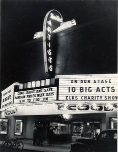 United Artist Theater (1953) by 47specialdeluxe, via Flickr