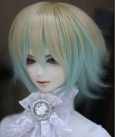 "1/3 8-9"".BJD.SD Pullip Dal LUTS BLYTH Doll blonde fashion wig hair kids toy gift"