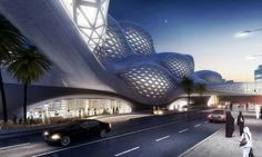 Metro station King Abdullah - Arabia Saudi Arabia - by Zaha Hadid
