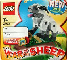 Lego Special Edition 40148 Year of the Sheep Boys & Girls 4+ New Lego Set 2015 #LEGO