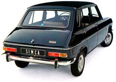 Simca 1100  First car I drove in. The car belonged to my dad. Comfortable car, bad performance and rusting like hell. Dad bought a Volvo after it and drove the brand ever since