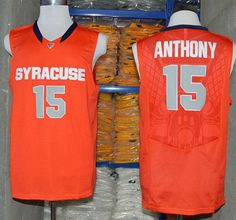 2572efe9398 Carmelo Anthony Syracuse Orange College Throwback Jersey Retro Basketball  Jersey New Material Top quality embroidery jersey
