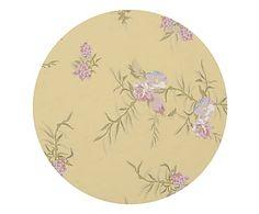 Sousplat Nina Floral Amarelo - 34X34cm