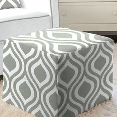 Rocking chair pads made by Carousel Designs in the USA. These rocking chair pads are made for full size rocking chairs and can be a great accent in any home. Each rocking chair pad includes back and bottom cushions. Home Furniture, Furniture Design, Outdoor Furniture, Outdoor Decor, Ottoman Slipcover, Slipcovers, Rocking Chair Pads, Carousel Designs, Bedrooms