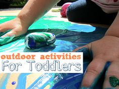 10 Outdoor Activities For Toddlers - Pinned by @PediaStaff – Please Visit  ht.ly/63sNt for all our pediatric therapy pins
