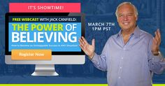 Today's the day! Catch my webcast at 1:00PM.  We'll be discussing proven #success secrets that anyone can use.