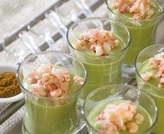 Cucumber and Avocado Smoothie Soups