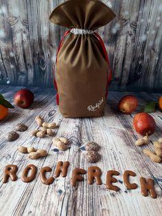 Rückseite großes Nikolaussackerl mit Rockfrech-Logo Advent, Laundry, Logo, Decor, Laundry Room, Logos, Decoration, Decorating, Laundry Rooms