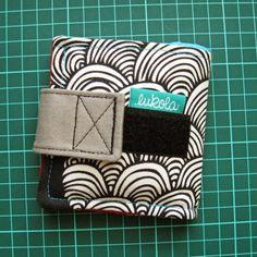 lukola handmade: Portfel składany - prototyp // Bi-Fold Wallet