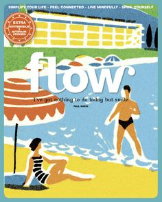 Flow Magazine - Magazine for paper lovers Paul Simon, Things To Do Today, Monthly Magazine, Newspaper Design, Magazine Art, Magazine Covers, Magazines For Kids, Surface Pattern Design, Creative Inspiration