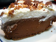 I Believe I Can Fry: Chocolate Ice Box Pie